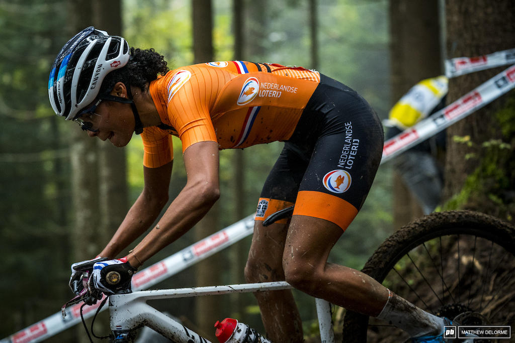 Ceylin Alvarado had a hell of a ride to third place.