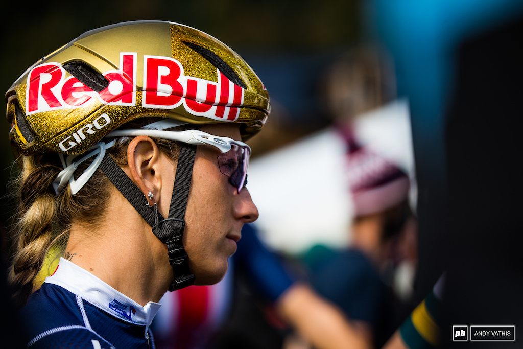Pauline Ferrand-Prevot has been riding confident since Nove Mesto. Today won t be any different.