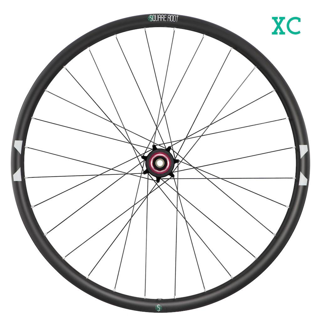 Square Root XC wheel rear