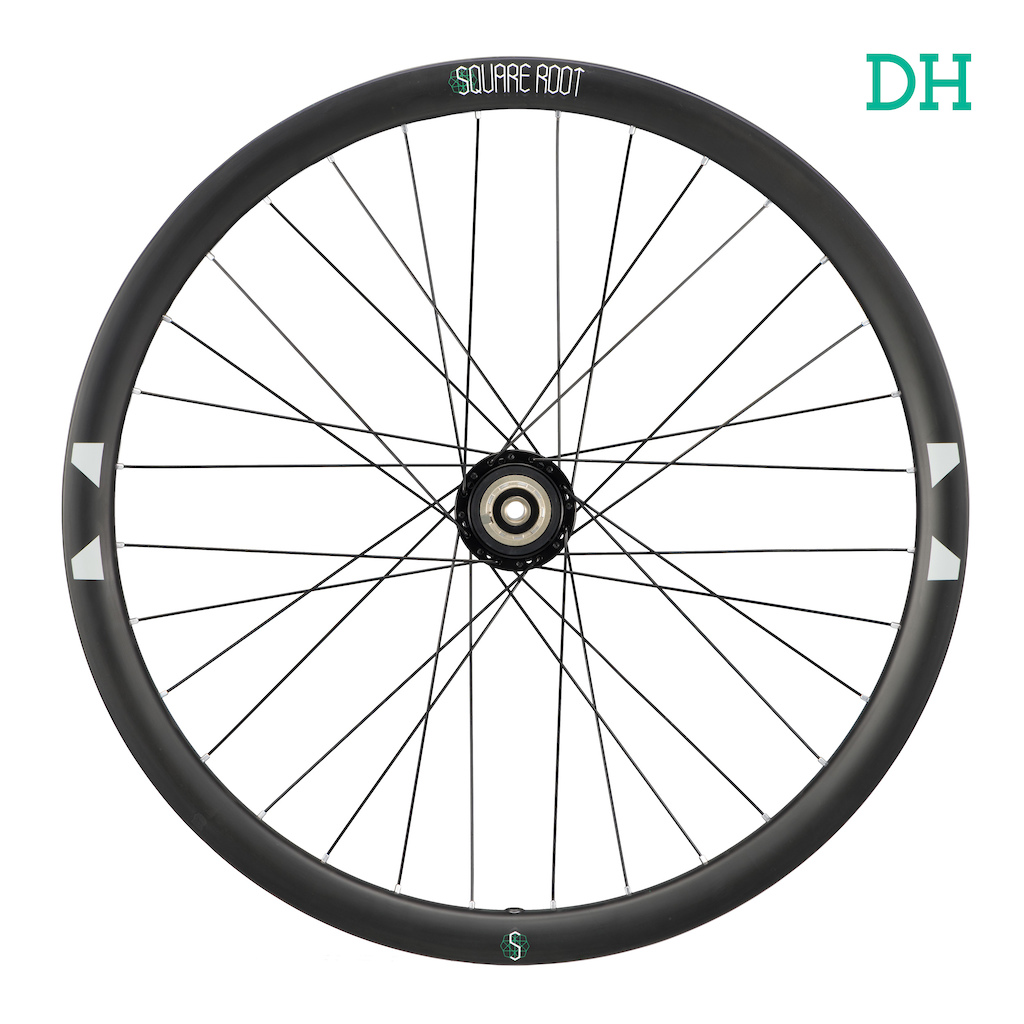 Square Root DH wheel rear