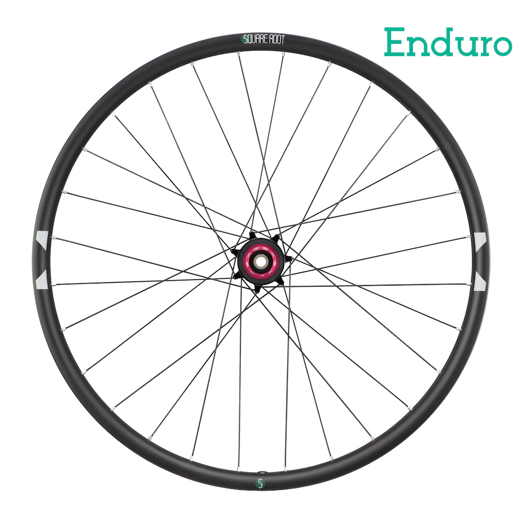 Square Root Enduro wheel rear