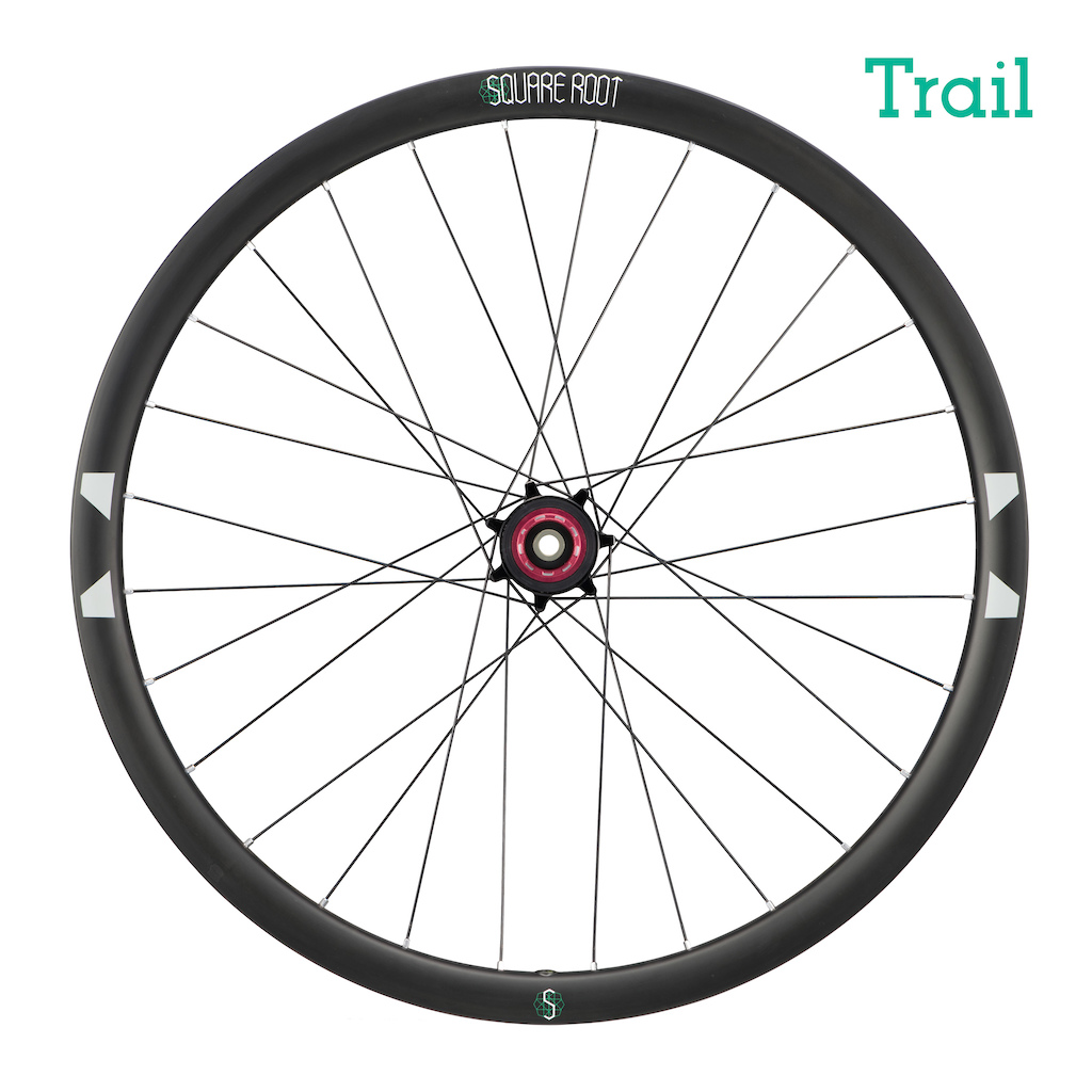 Square Root Trail wheel (rear)