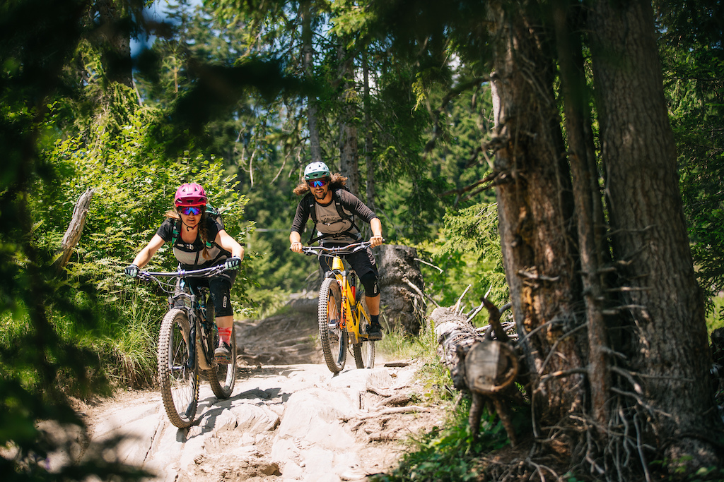 Enduro Allmountain Bike Mountainbike Trail Alp St tz Western Summits