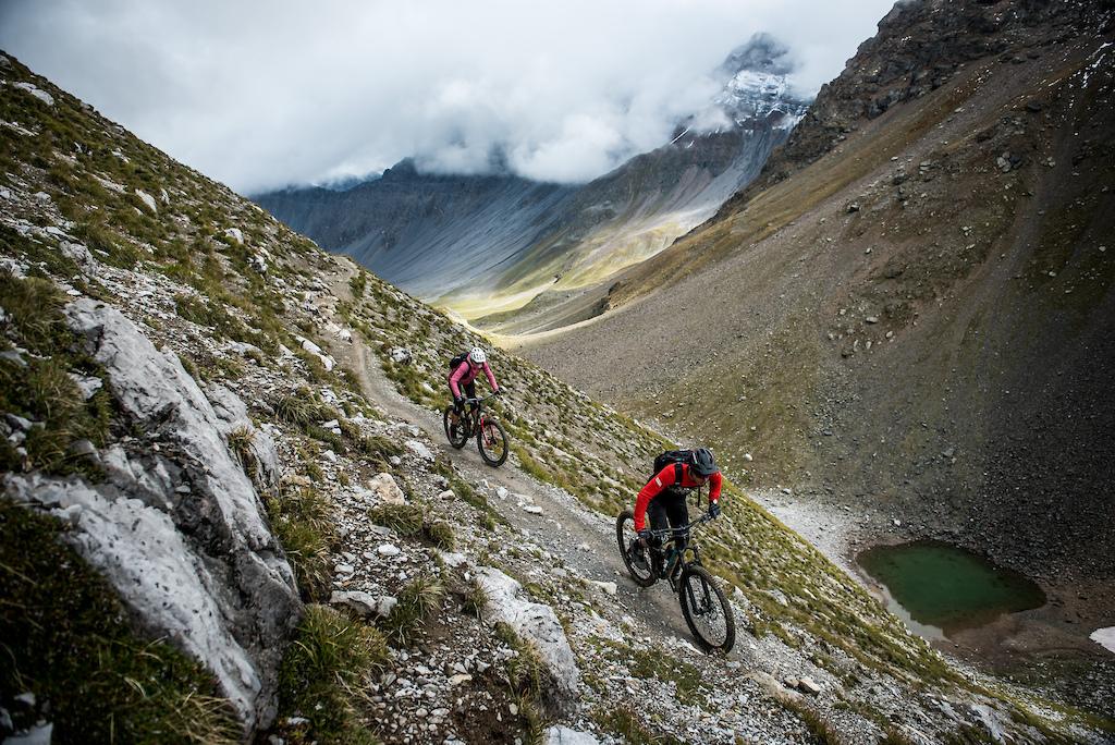 Enduro Allmountain Bike Mountainbike Trail lplisee