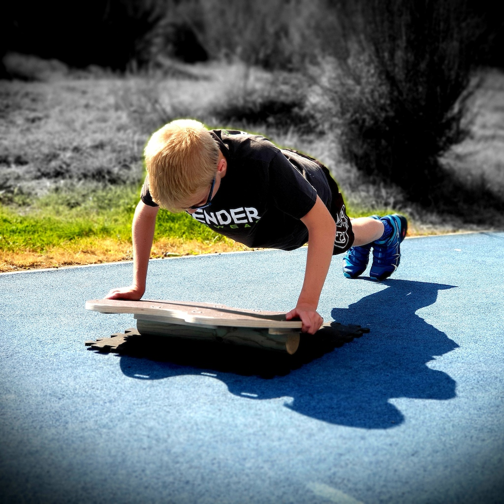 Use your balance board in numerous ways