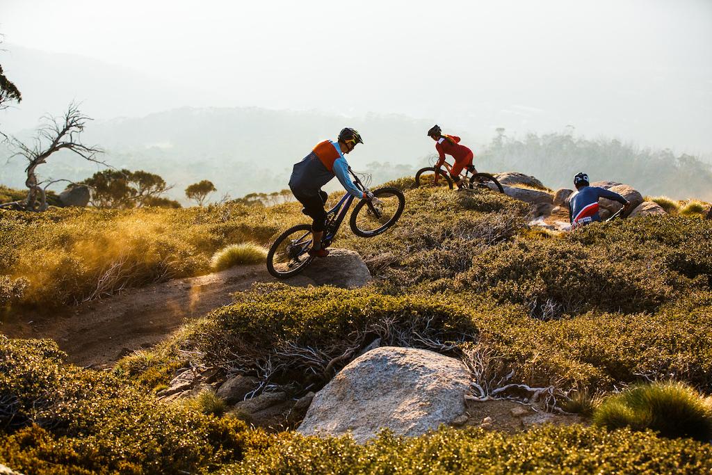 Thredbo has 34 kilometres of mountain bike trails to explore.
