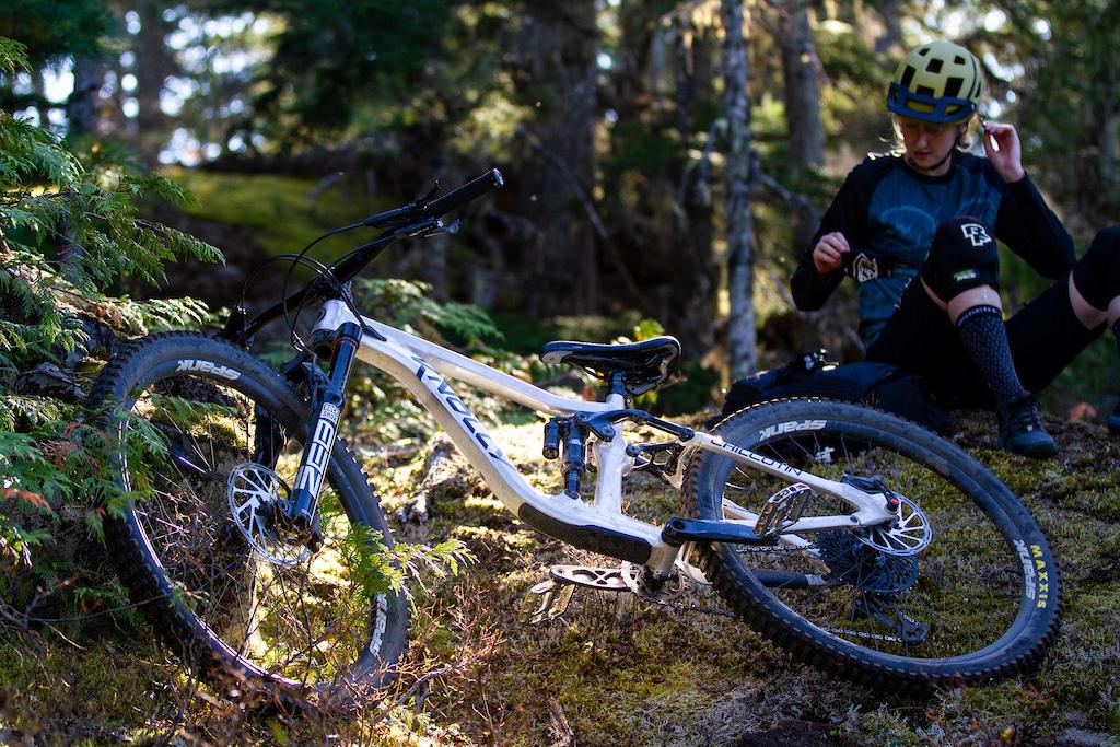 Chilcotin Launch Photo- bike shot 1