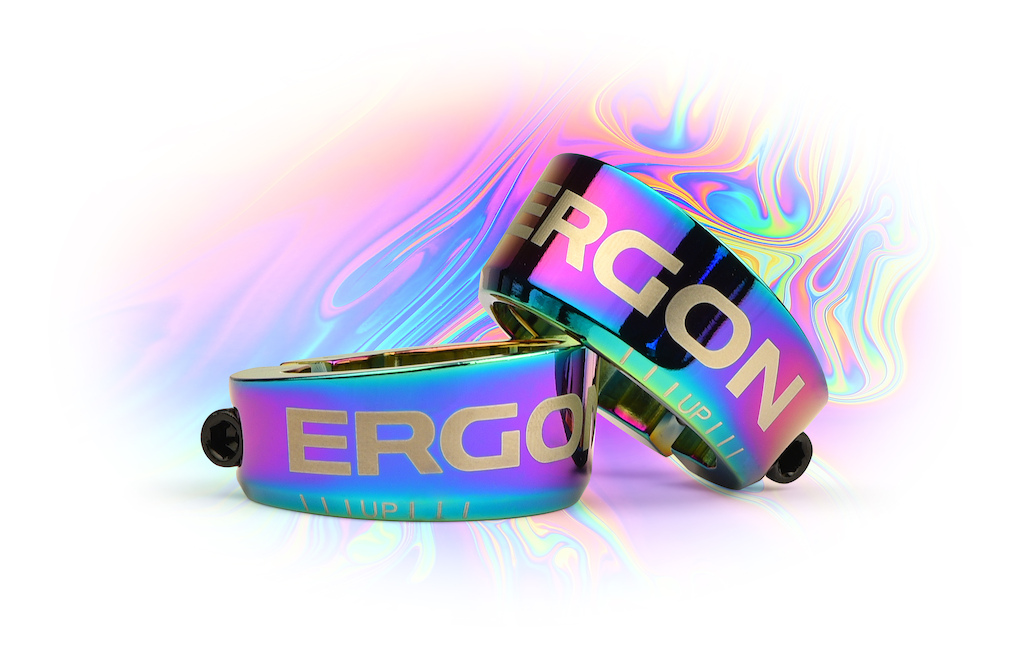 ERGON GE1 Oil Slick clamps.