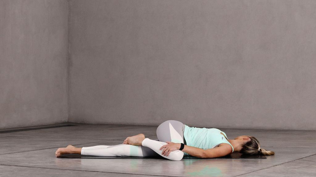 Reclining Spinal Twist