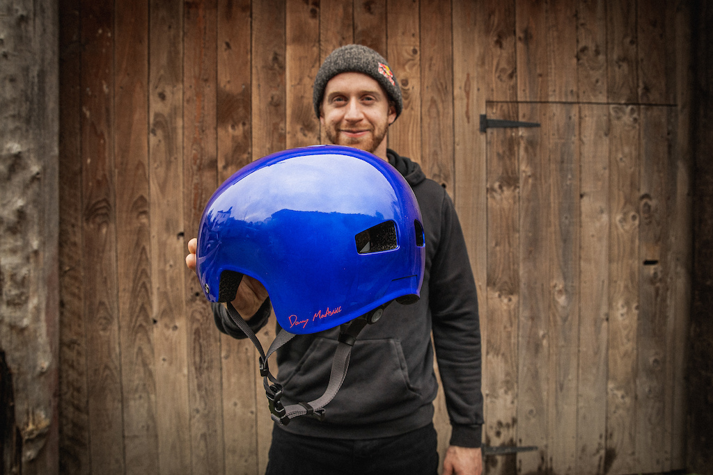 Danny MacAskill s signature helmet from Endura