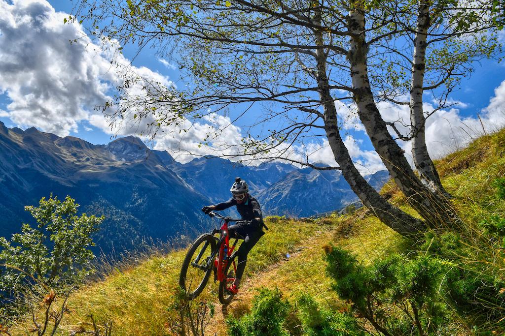 Entecada trail is non stop fun