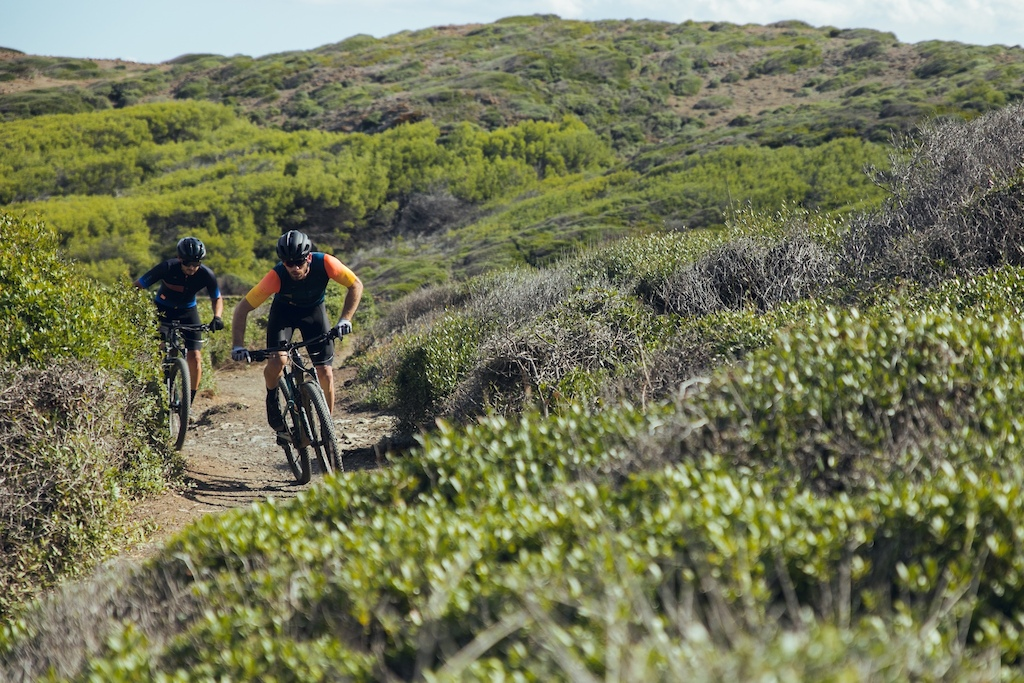 Menorca island Spain in MTB a project where they did the trail that goes around the island named Cam de Cavalls