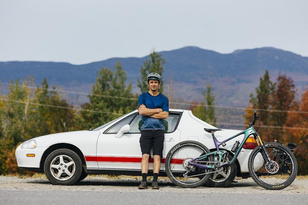 Adam with a Honda Del Sol and Trance X Advanced Pro 29 0