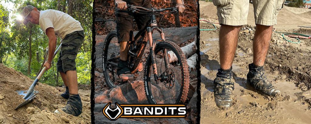 Bandits keep out debris from footwear