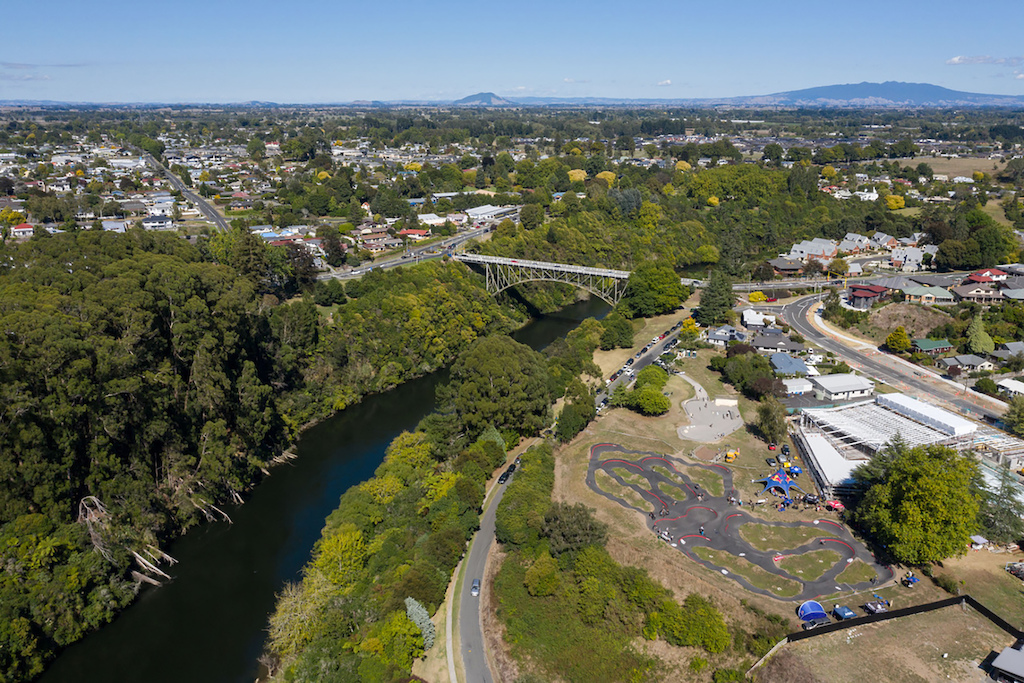 Red Bull UCI Pump Track World Championship qualifier 2020 in Cambridge New Zealand on March 14 2020