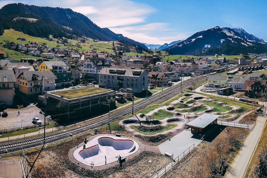 Velosolutions Pump Track Schupfheim Switzerland