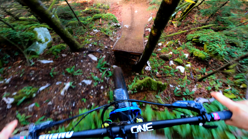Little ride in the woods of Squamish