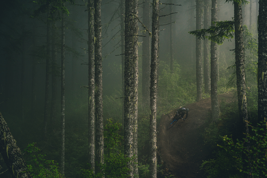 "On an assignment for Giant Bicycles with Reece Wallace for ""Pleign"". Mt. Prevost"