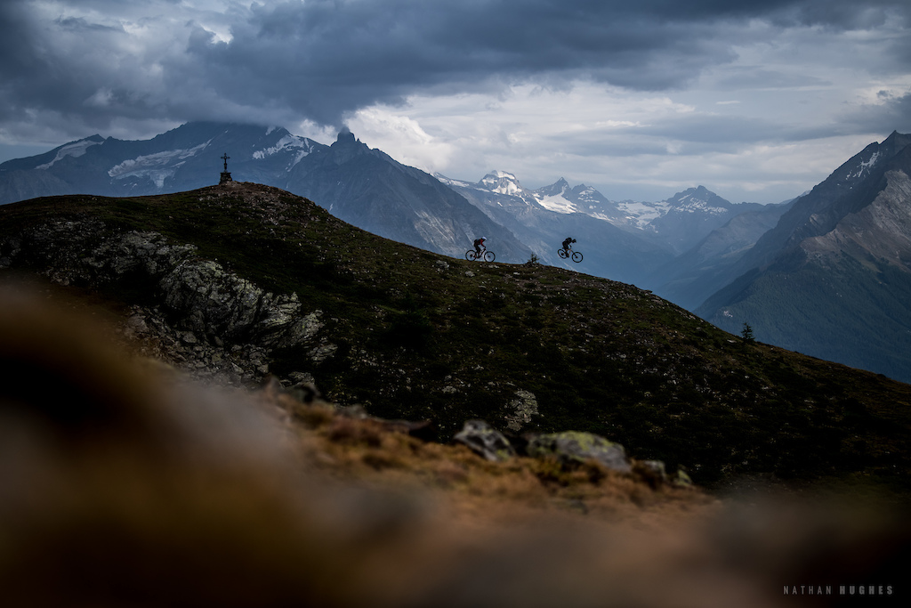 Aosta overnight hut adventure with Olly Wilkins and Kathi Kuypers