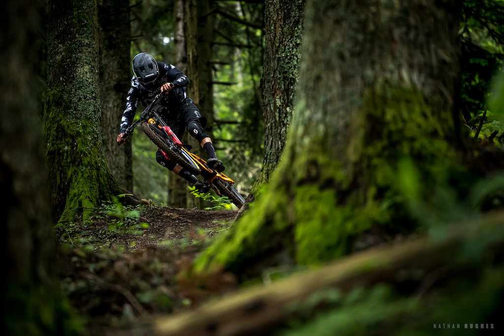 Vinny T riding his home trail 'America'