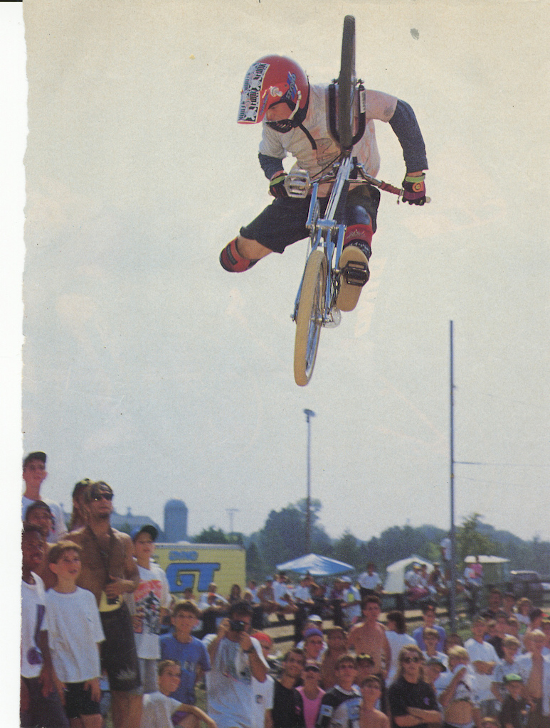 1990. BMX Plus Two different sized water ski gloves I found in the road.