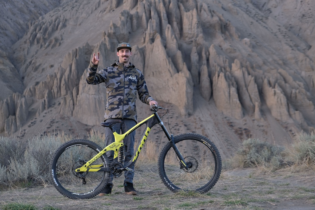 Jacob Mullen gets rowdy at Farwell Canyon