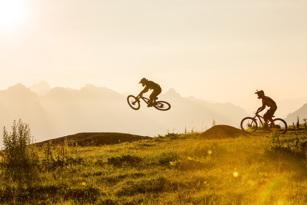 Besides the extremely fun trails in the bike park...