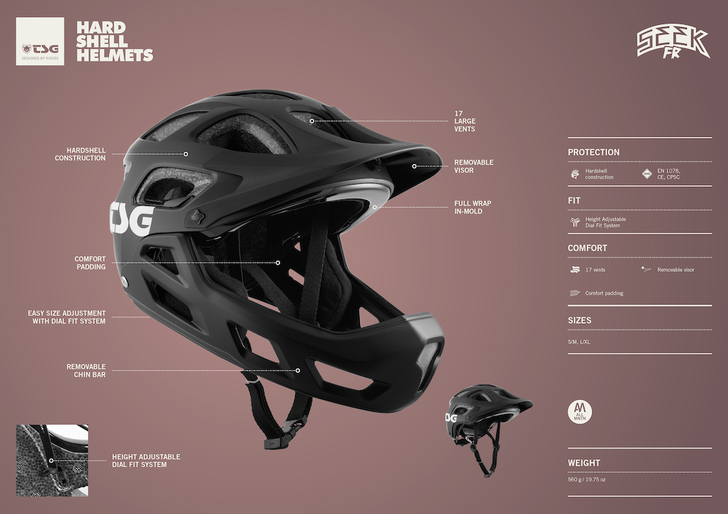 SEEK FR Helmet S021