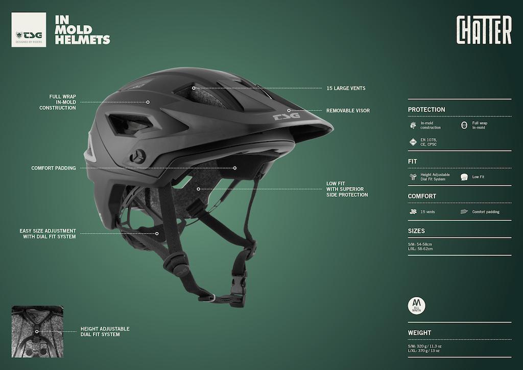 Chatter Helmet S021