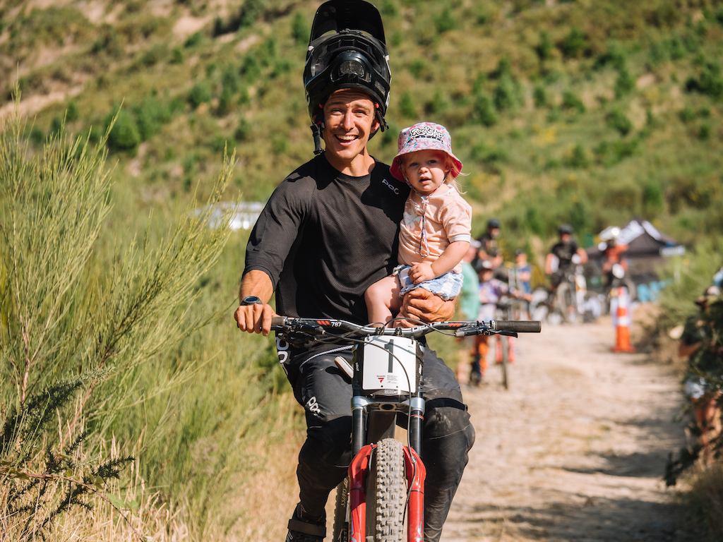 The fastest dad in Downhill