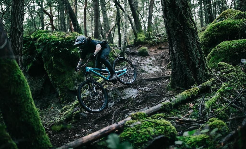 YT INDUSTRIES Ace Hayden on Vancouver Island British Columbia Canada