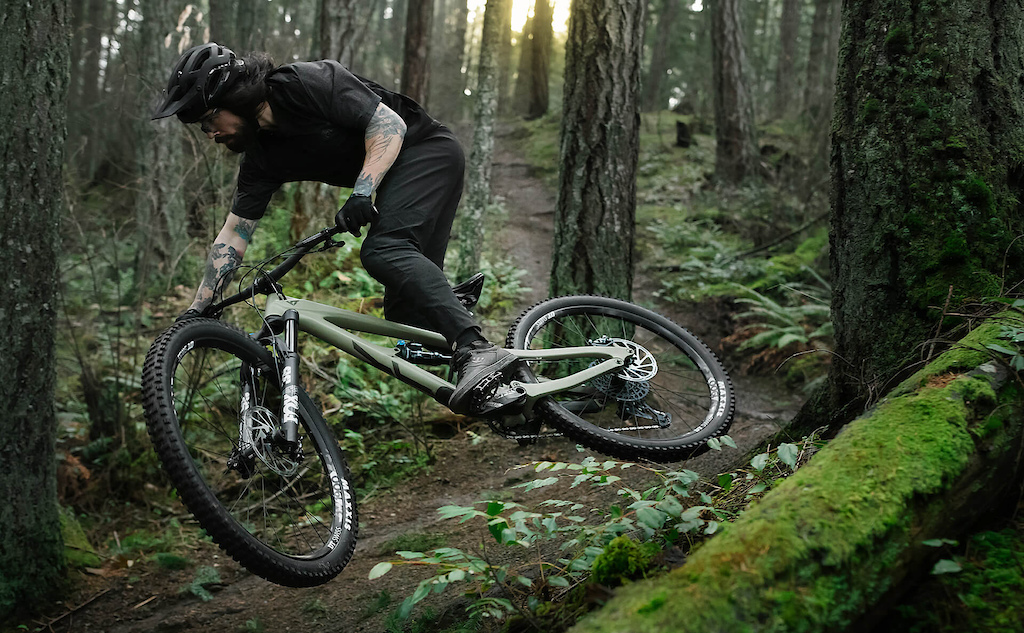 YT INDUSTRIES Ace Hayden on Vancouver Island British Columbia Canada