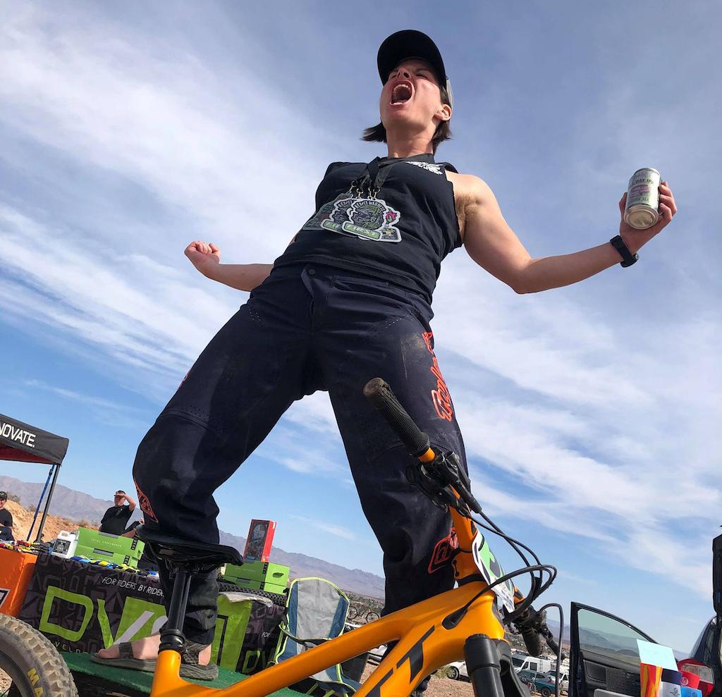 1st place Women s Category 3 30 DVO Reaper Madness