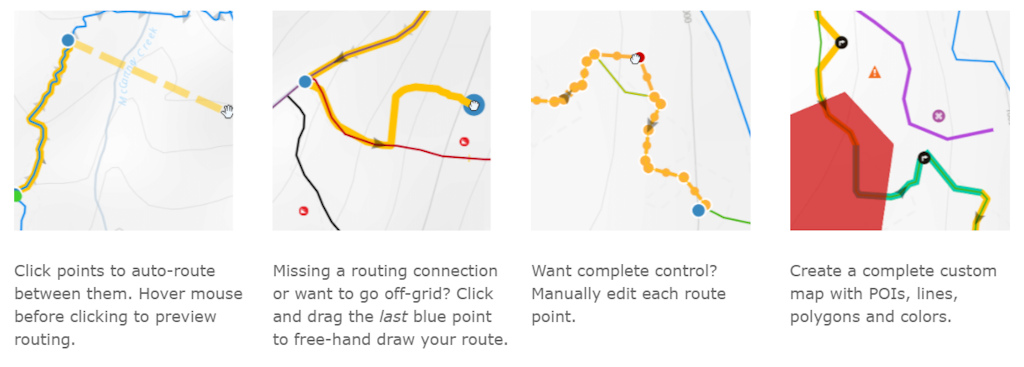 Different ways to create your route