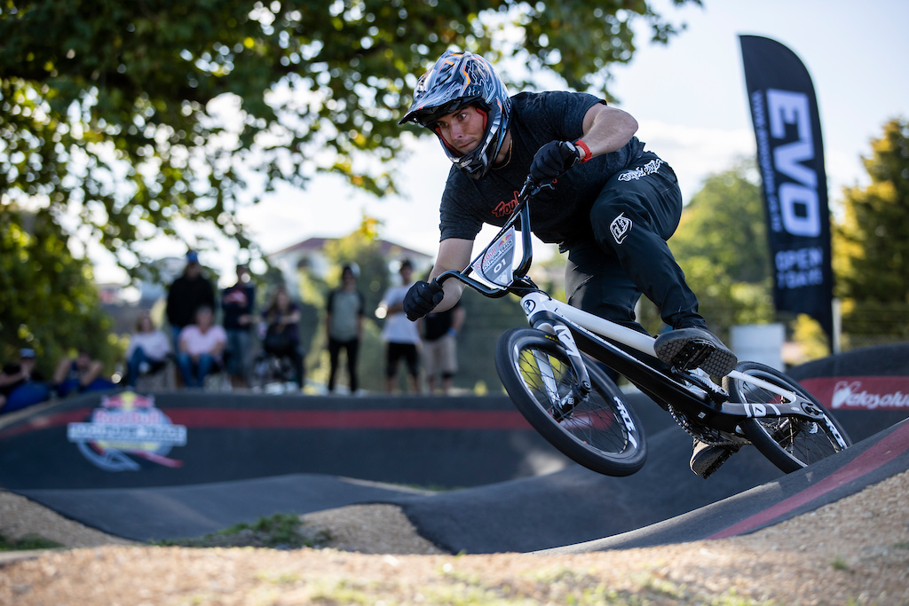 Michael Bias secures 2nd place at the Red Bull UCI Pump Track World Championships Qualifier in Cambridge New Zealand on March 20 2021