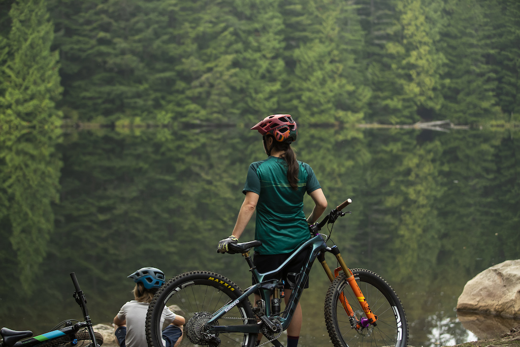 Ben and Courtney Wittenburg with Lazer Helmets in Squamish BC