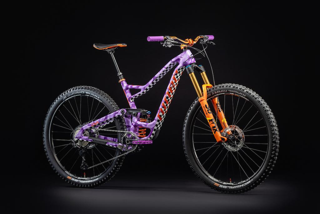 Custom Kirt Voreis purple camo Niner Bikes RIP 9 RDO