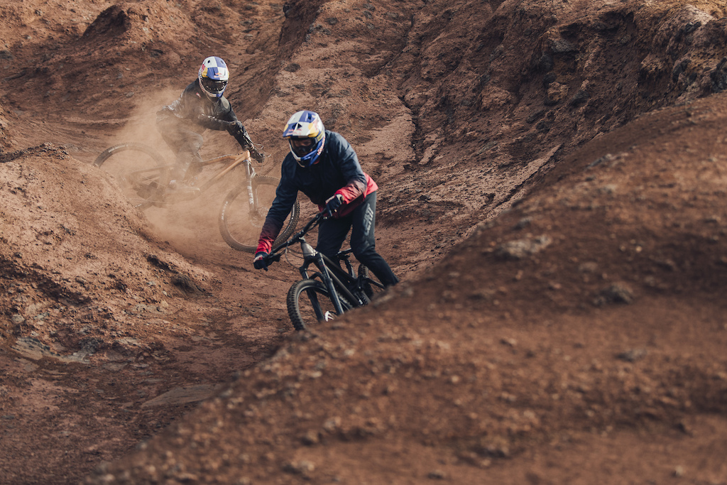 Freeride with Godziek Brother riding new NS Define bikes