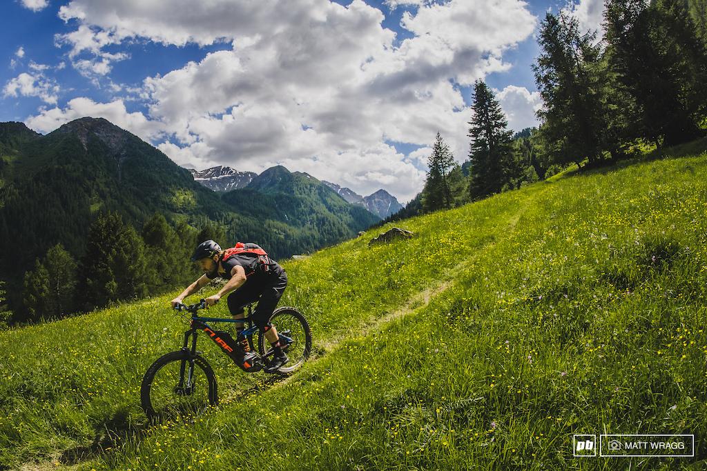 Val di Pejo Italy. Photo by Matt Wragg