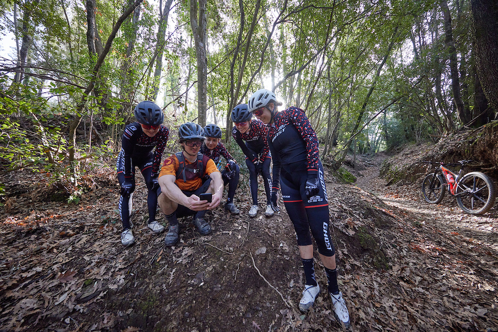 GHOST Factory Racing Team Camp 2021 shot by Attention Builders