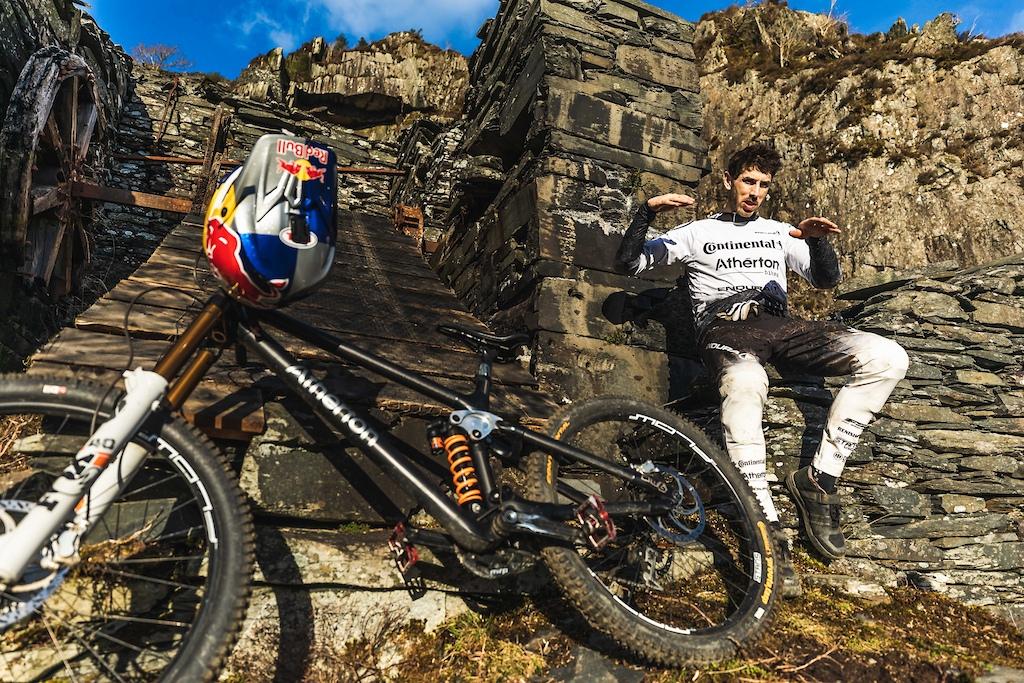 Gee Atherton Quarry Slate Line Bike Check