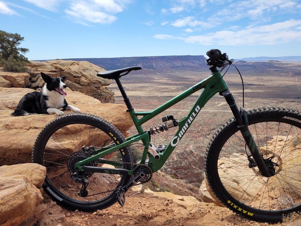 Stolen bike Canfield Tilt Prototype with EXT suspension