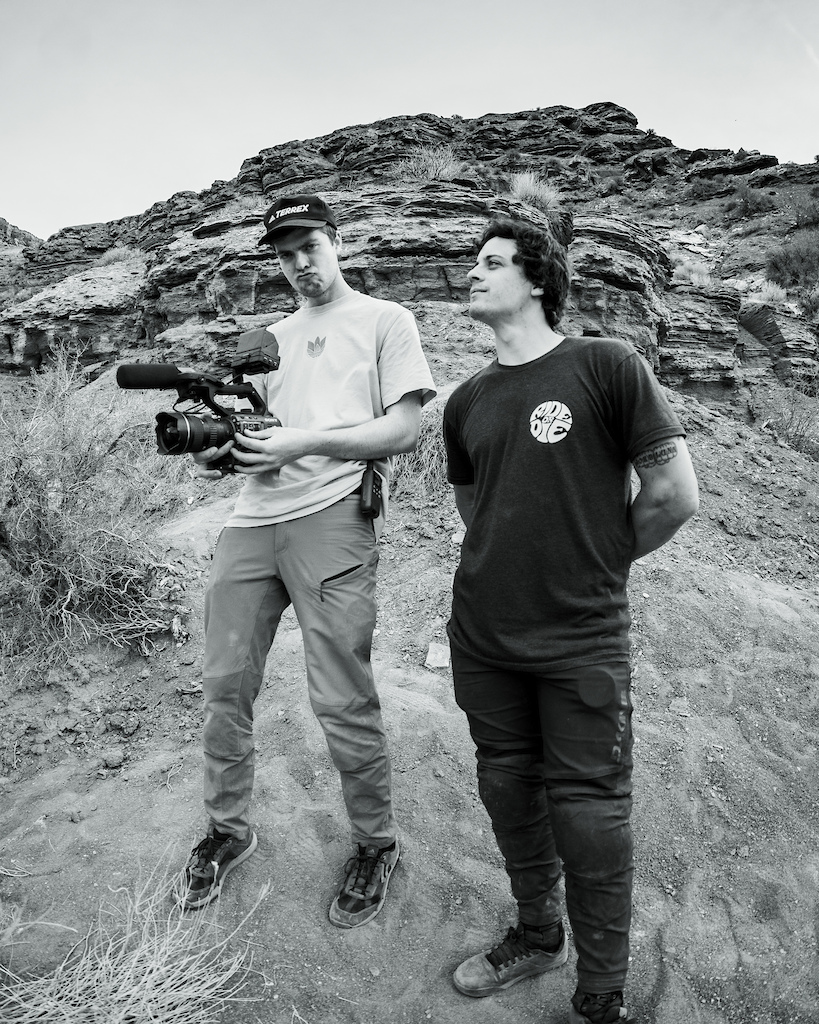 Tory Powers Holding the camera and Carson had spent the most time out in Virgin yet had never worked together before. It was great to see the two work to create some incredible shots.