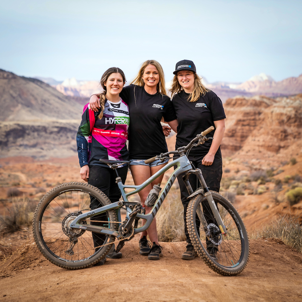 We are so fortunate to have such a great group of women representing SR Suntour and working to help progress women in mountain biking.
