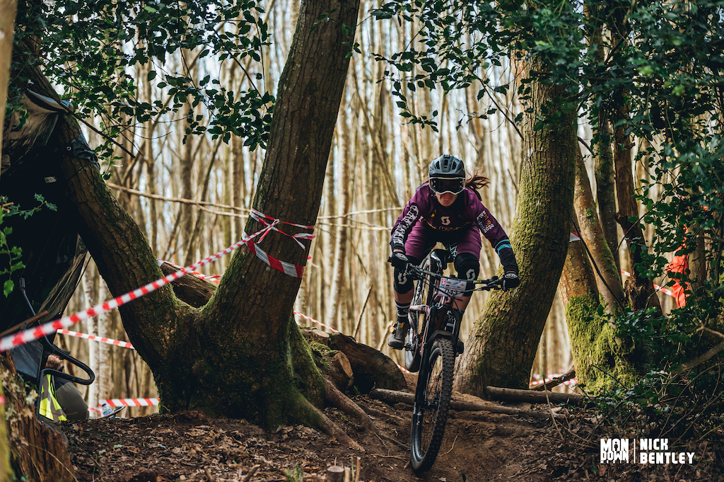 Becky Cook took both the elite women s win today and the title of the fastest lady on the hill. the ladies field is growing and any girls out there who are unsure about racing come and give it a go everyone is really supportive and just there to have fun on there bike.