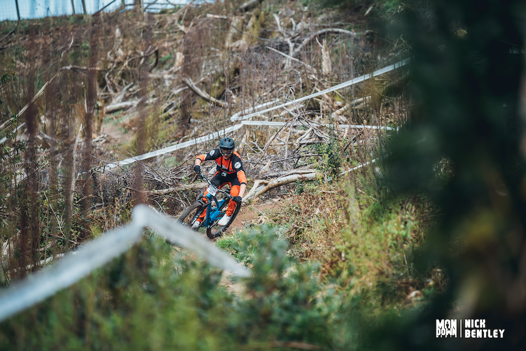 the upper section of stage one had been felled last year and now the Southern Enduro team has sculpted a really flowy upper section for this race.
