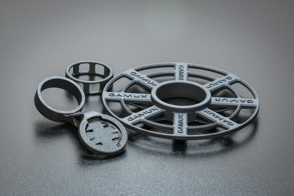 Gamux 3D printed parts.