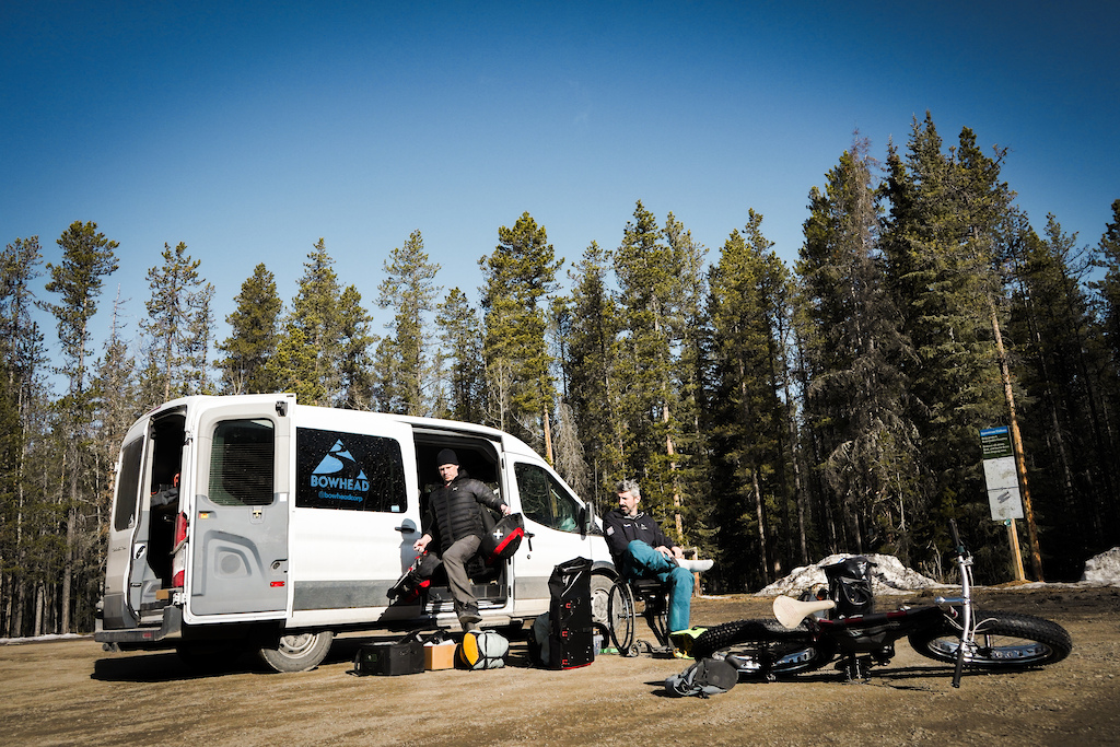 We went on an Adventure in the foot hill of the rocky mountains on Bowhead Reach adaptive mountain bikes. We headed up Foran Grade Trail with the intent of making it to up the ridge towards Death Valley to camp. But we had to turn back and find somewhere else to camp.