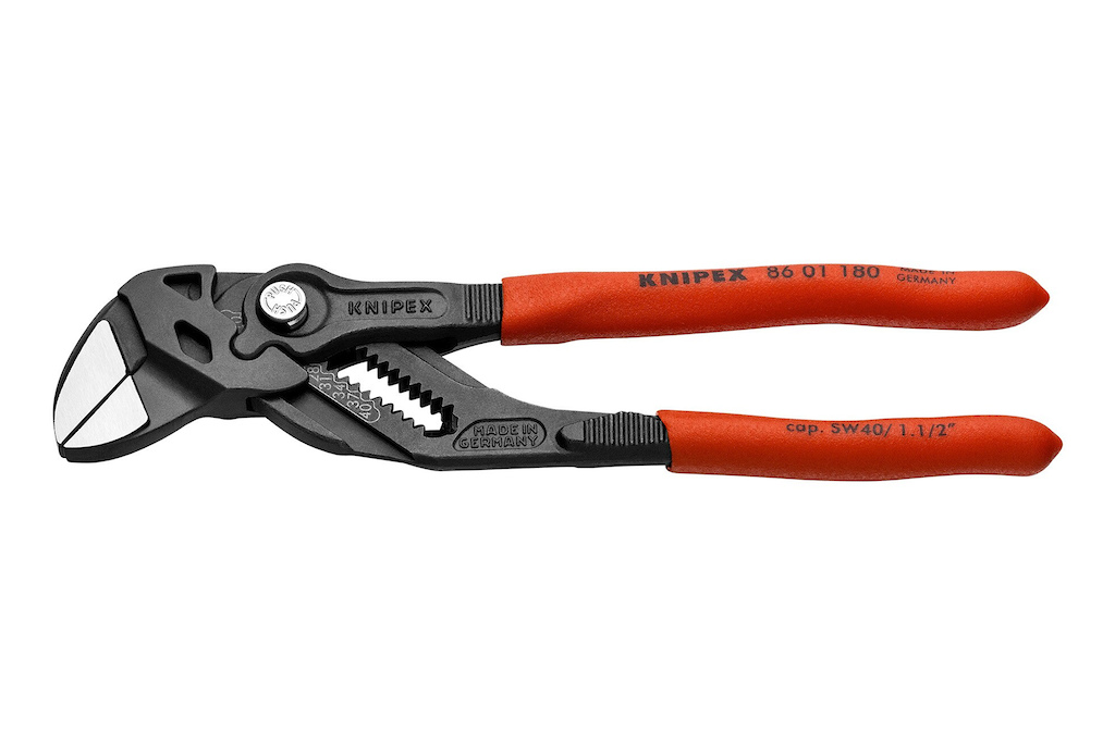 Knipex Pliers Wrench - 180 mm new version. 86 01 180.