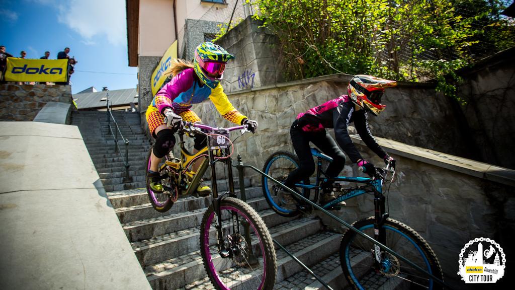 Doka Downhill City Tour Cieszyn 2017 dual edition